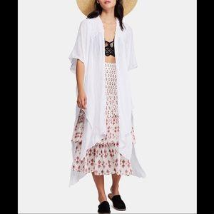 Free People Angelica Open-Front Kimono